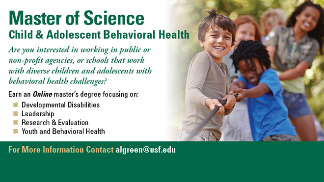 M.S. Child & Adolescent Behavioral Health