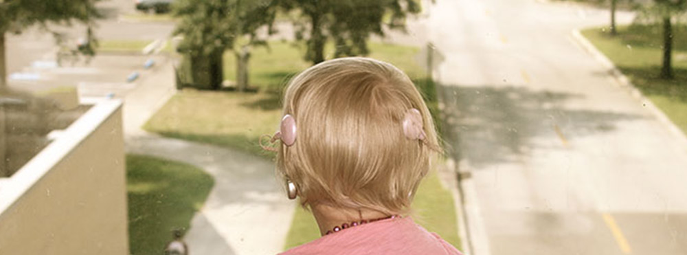 patient with cochlear implants