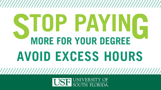 Stop paying more for your degree - Avoid excess hours