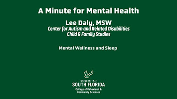 Mental Wellness and Sleep
