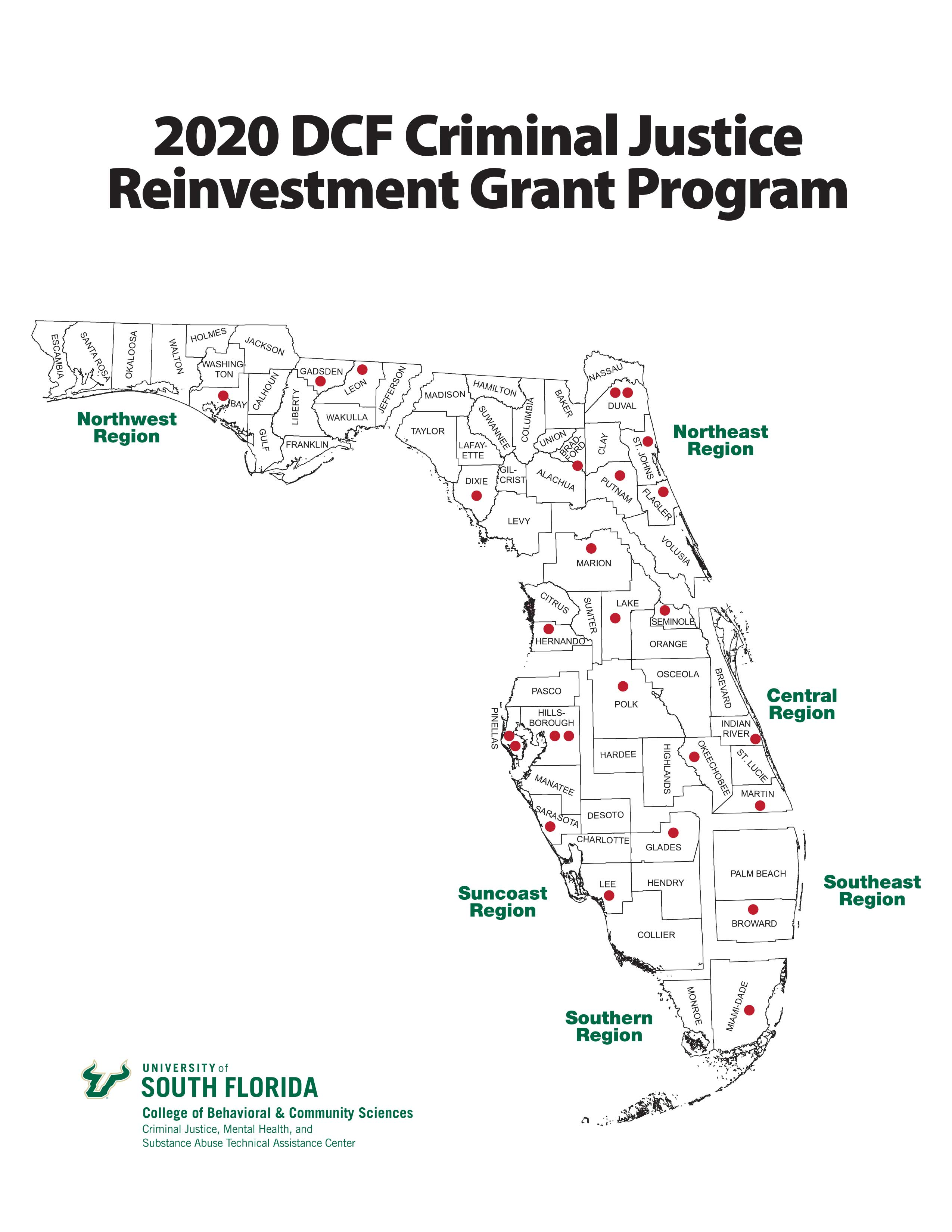 active 2020 reinvestment grantees
