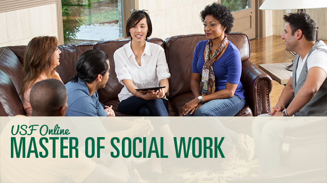 Become a social work leader with USF's MSW program