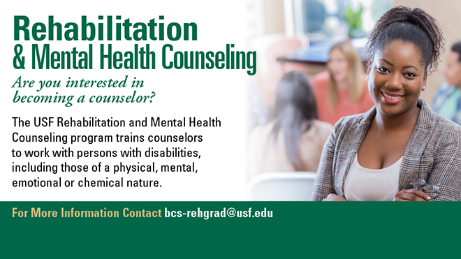 rehabilitation and mental health counseling