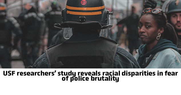 USF researchers' study reveals racial disparities in fear of police brutality