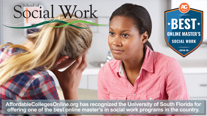 USF Online MSW Program Ranked a Best Online MSW Program!