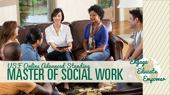 USF ONLINE ADVANCED STANDING MSW PROGRAM