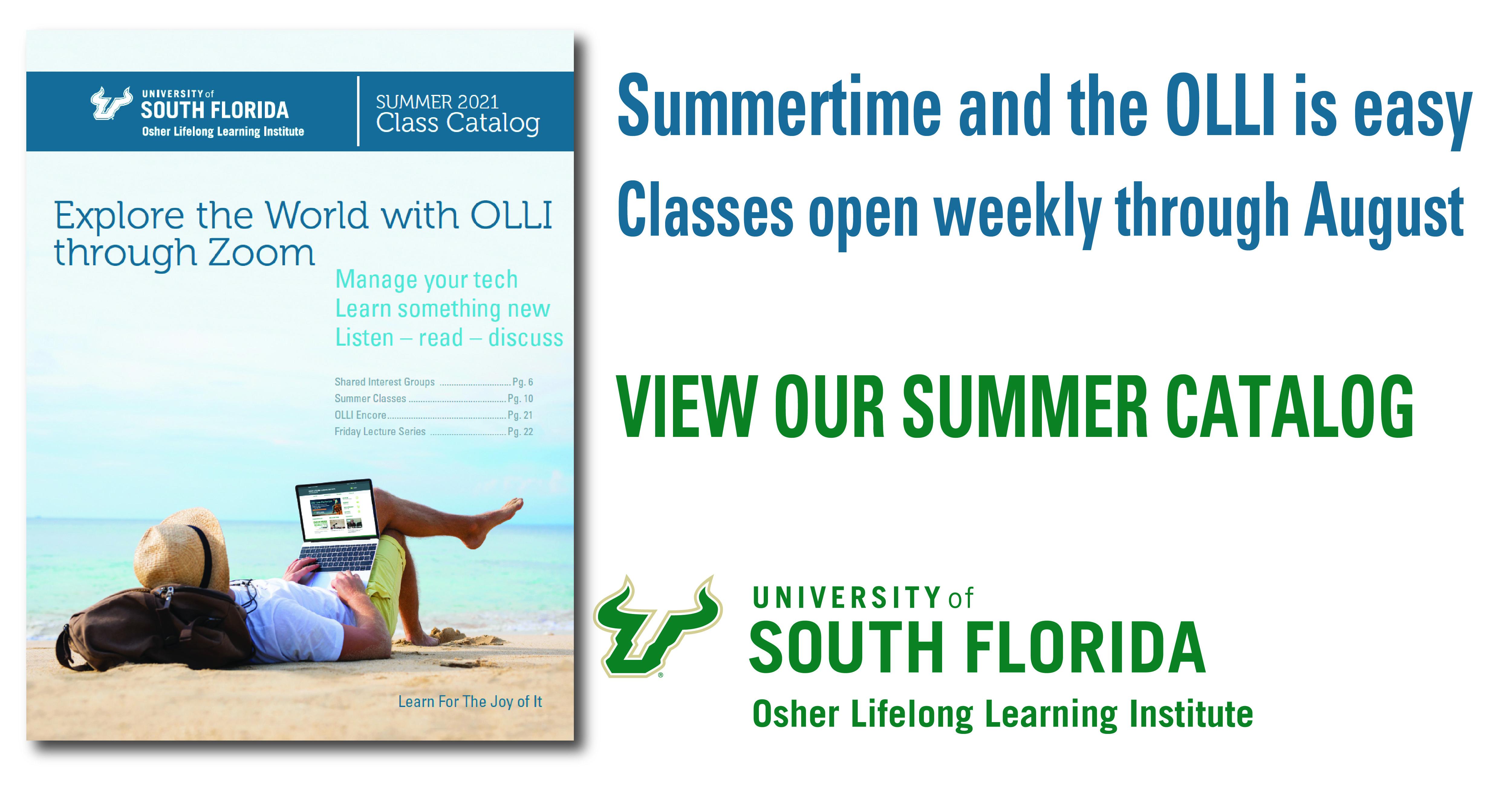 Summertime at OLLI