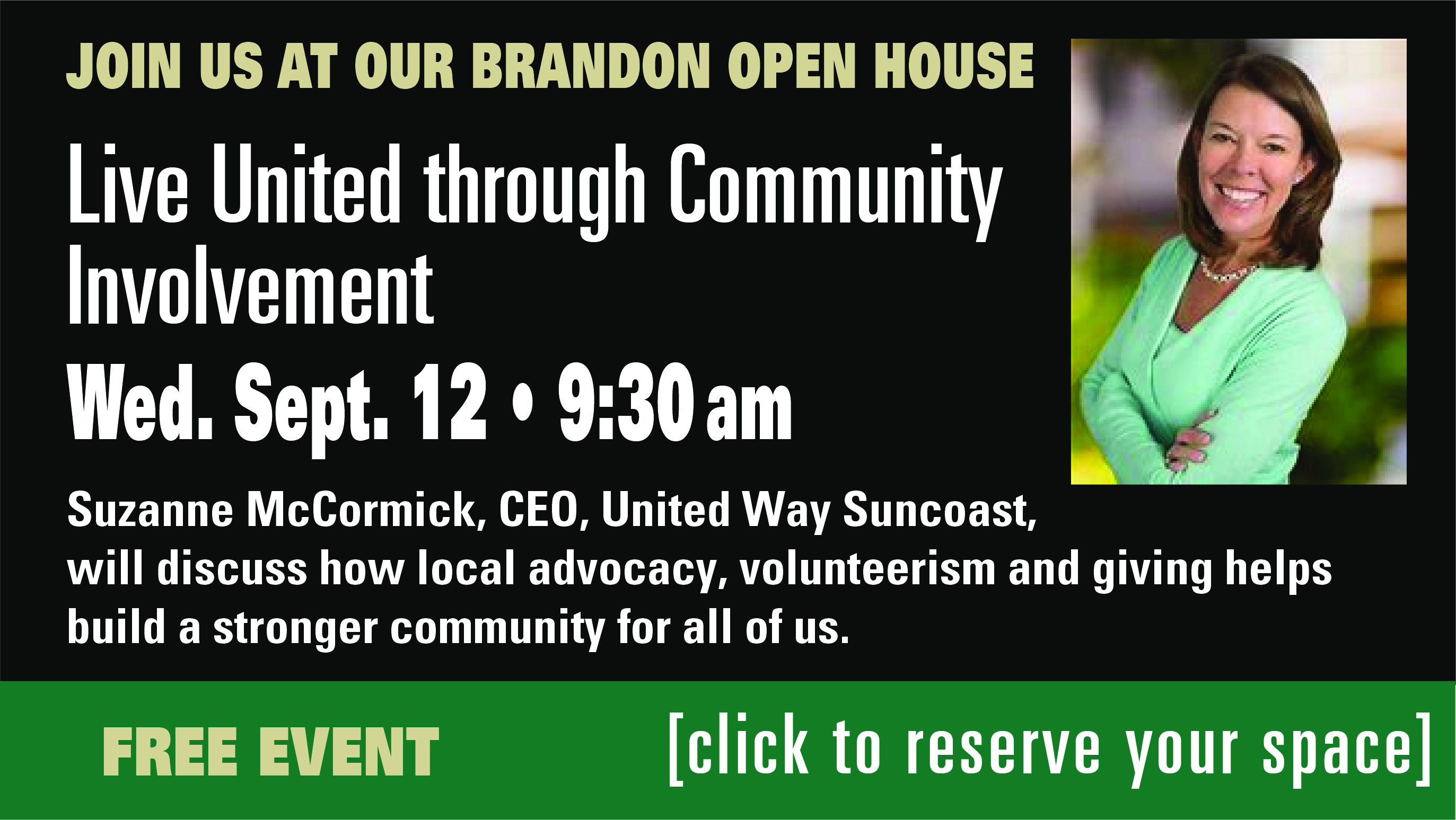 OLLI-USF Open House-Riverview, Sept. 12
