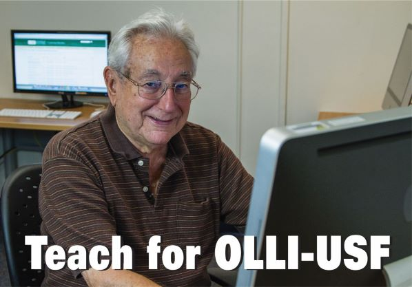 Learn how to teach for OLLI-USF