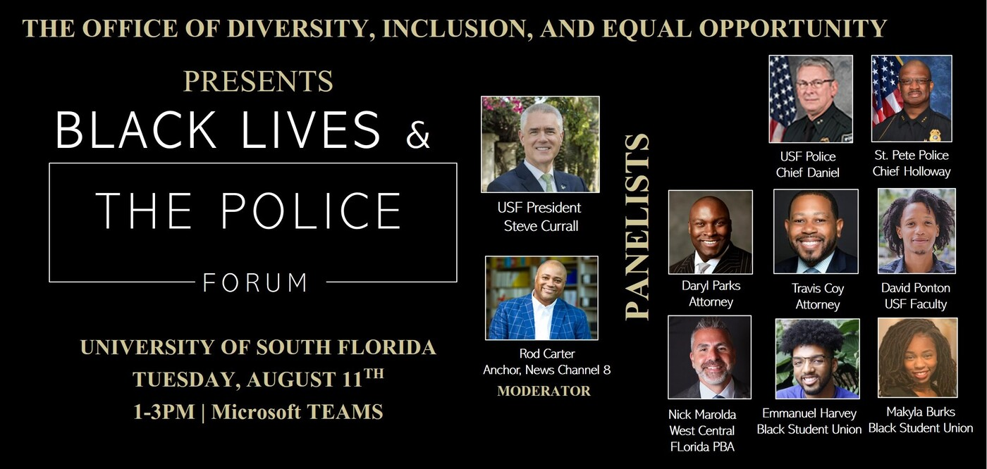 Black Lives & The Police Forum