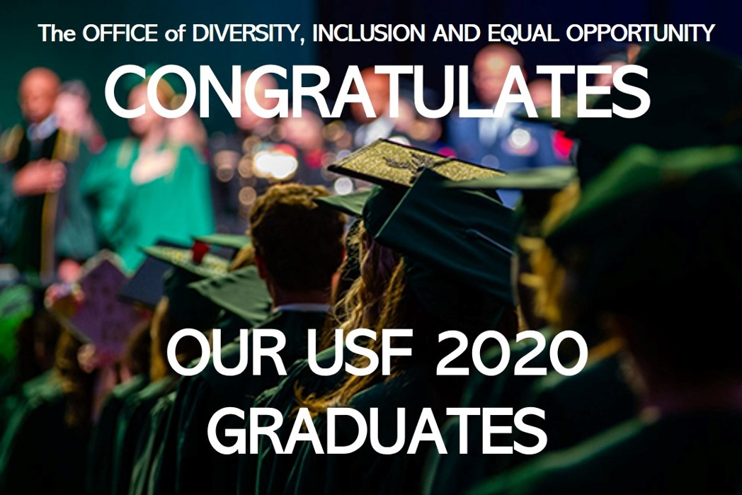 Congratulations To Our USF 2020 Graduates