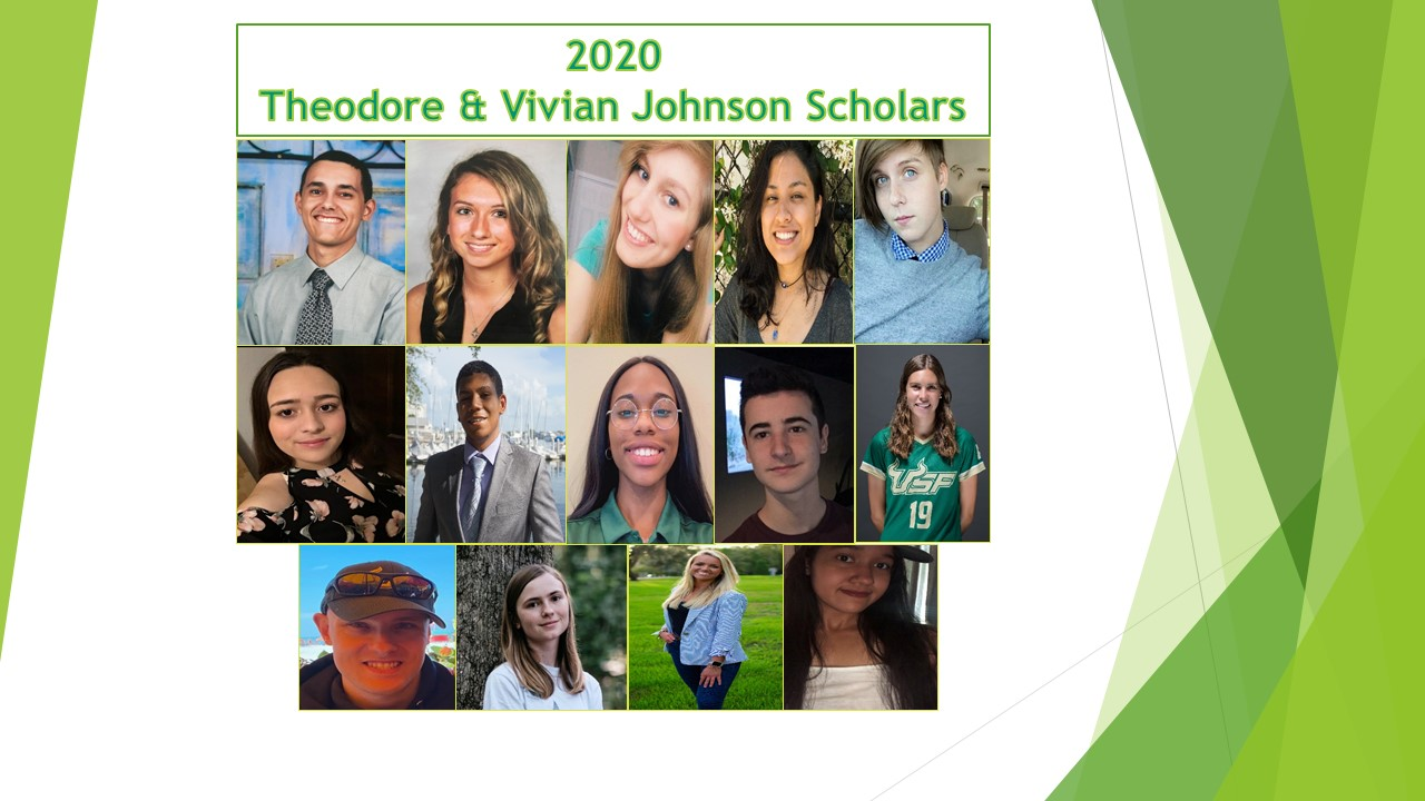 Fall 2020 Johnson Scholars Recognition