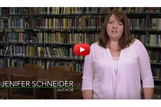 video clip: Jenifer Schneider author from Ralph Wilcox's Fall 2015 Faculty Address (opens new window)