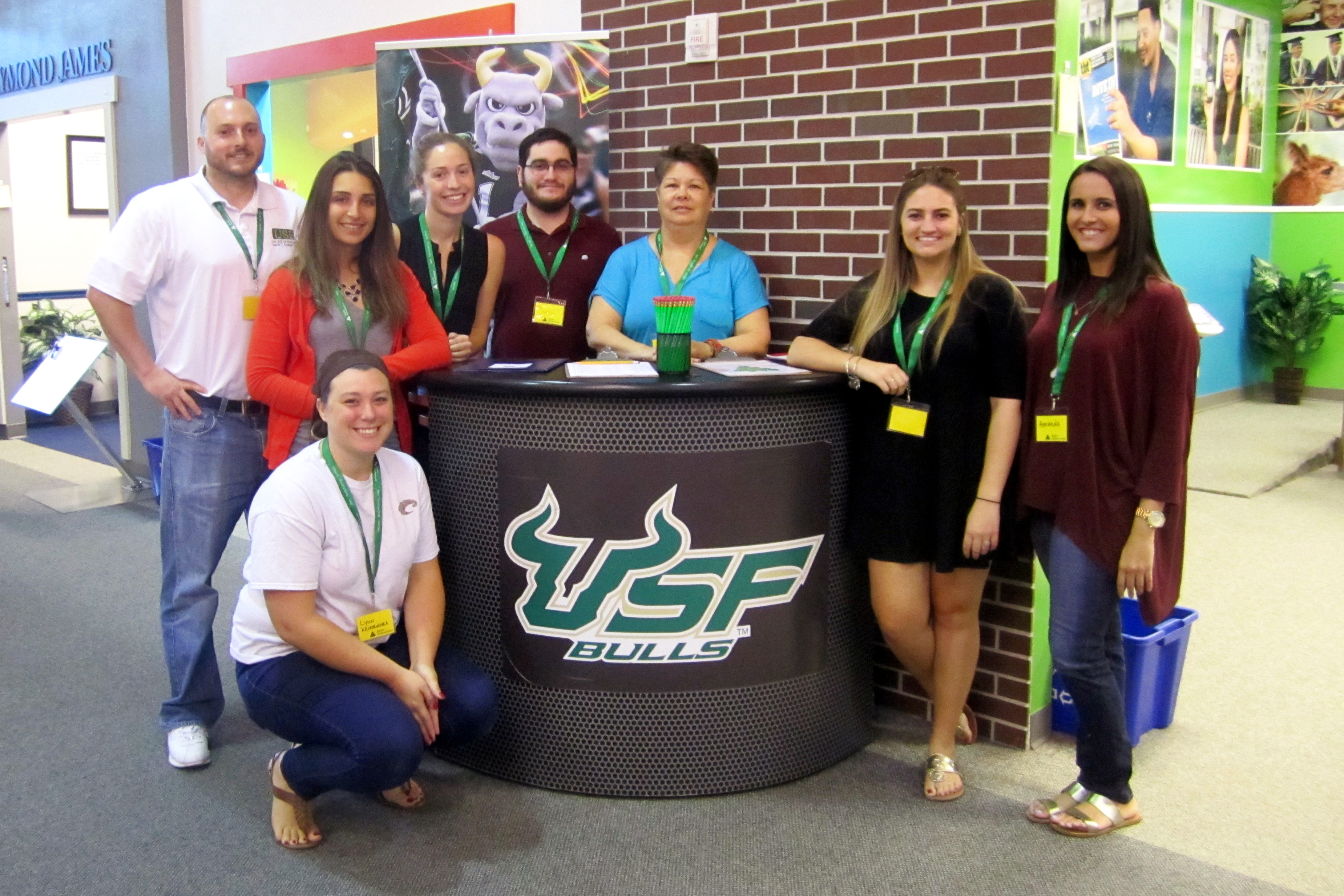 Students in the USF College of Education Master of Arts in Teaching Program at Junior Achievement BizTown