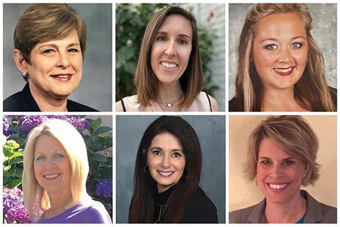Headshots of undergraduate program committee award recipients