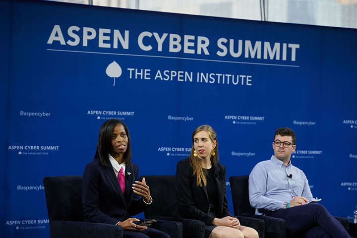 Ora Tanner at the Aspen Cyber Summit