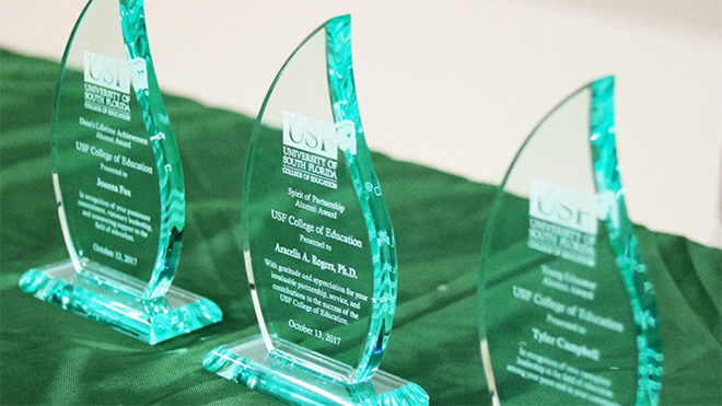 USF College of Education Distinguished Alumni Awards