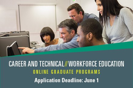 Career and Technical Workforce Education Online Graduate Programs
