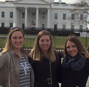 Students at Washington D.C.