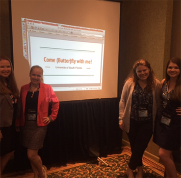 USF students presenting at National Conference