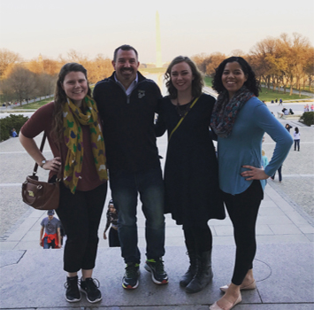 USF students in Washington D.C.