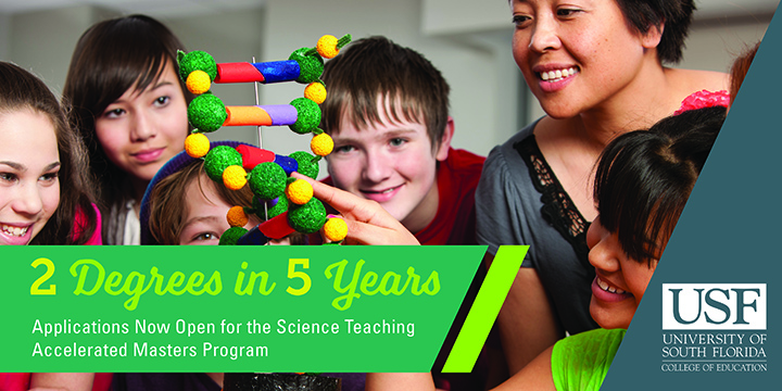 2 Degrees in 5 Years | Science Accelerated Teaching Masters Program | USF