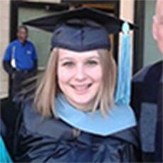 Erica Maag Velasquez Graduation photo