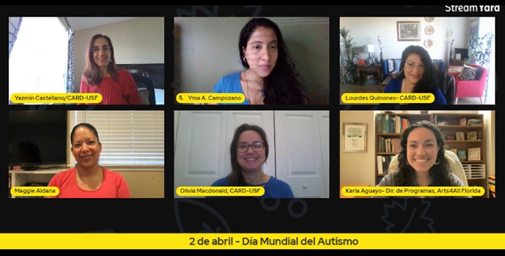 Online talk show screenshot