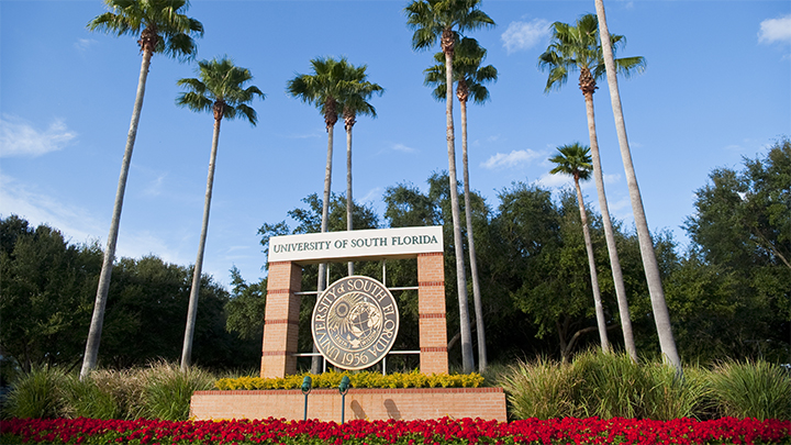 USF entrance with seal