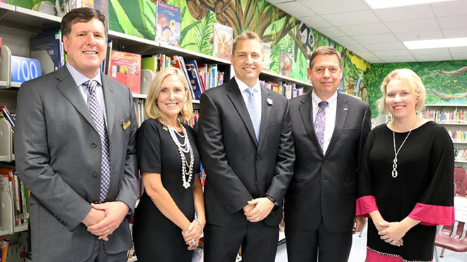 College of Education Leadership with Hillsborough County Superintendent Jeff Eakins