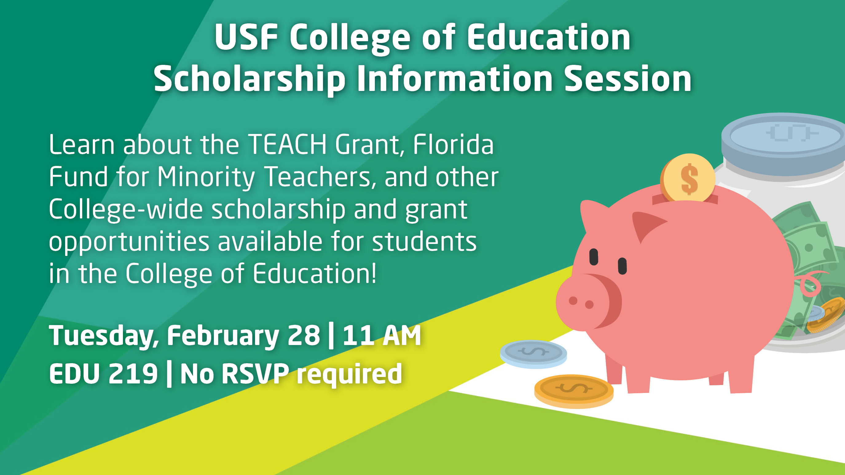 USF College of Education Scholarships Information Session
