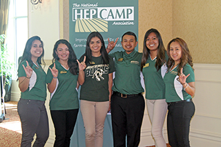 Students at HEP CAMP conference