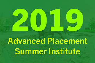 2019 Advanced Placement Summer Institute at USF