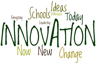 wordle word cloud for Anchin Innovation in Action