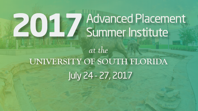 2017 Advanced Placement Summer Institute