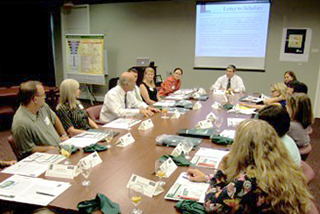 Session of the BB&T Academy taking place in a conference room