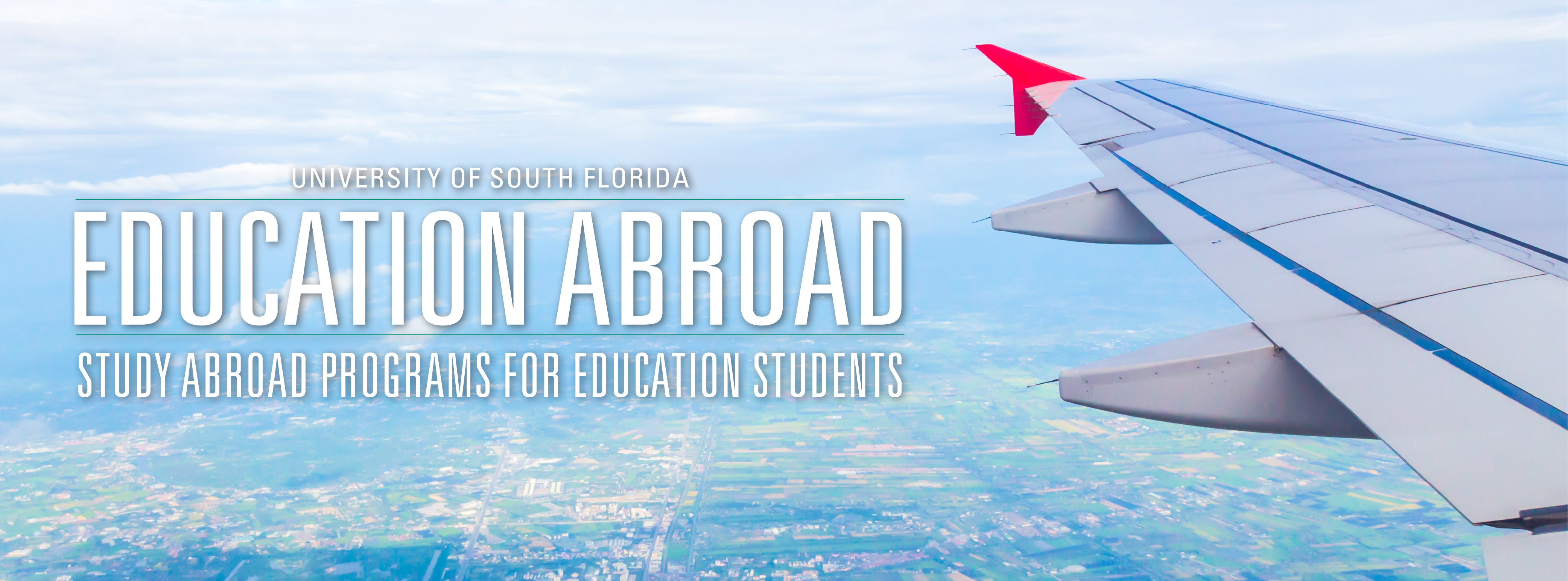 Study Abroad Opportunities for College of Education students