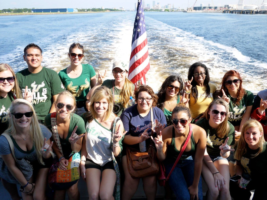 Students Boat Tour