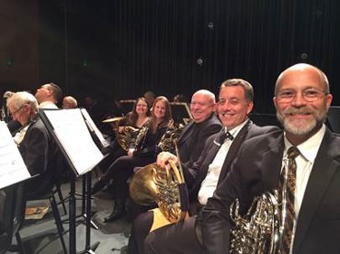 Bertini and fellow Fanfare horn players