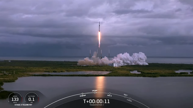 USF IAE ARCE-1 Launch from SpaceX