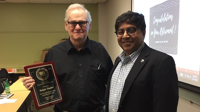 Picture of Dr. Tindell and Dr. Sarkar