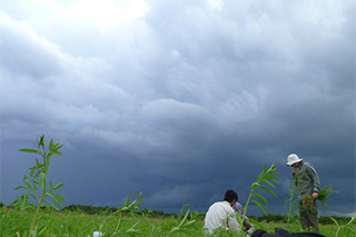 storm looms over mekong