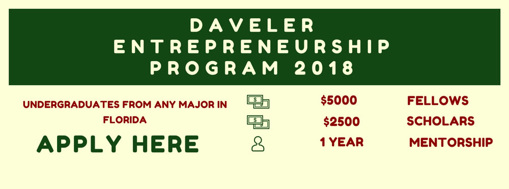 Daveler Program Flyer
