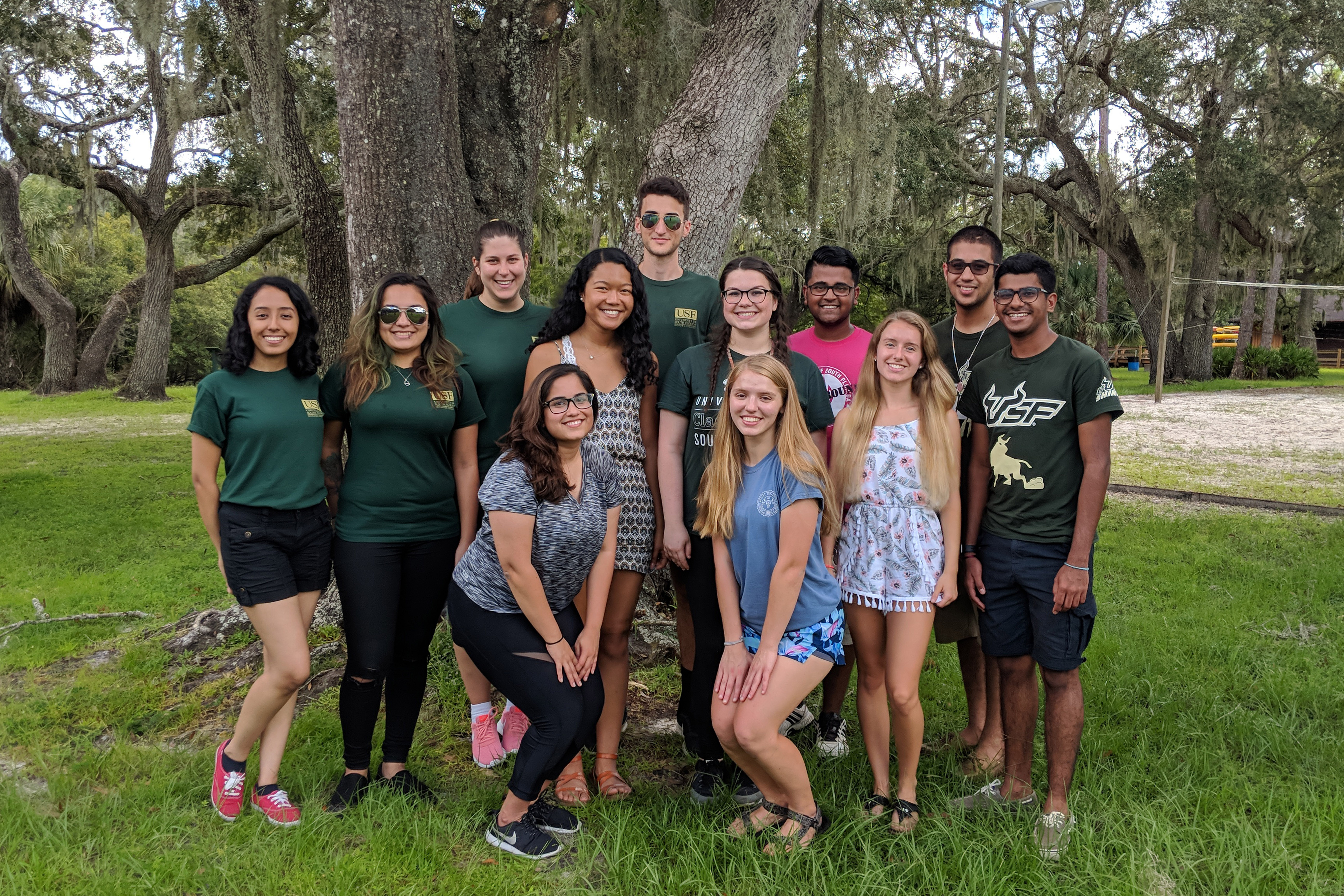 Honors College Student Council members 2018