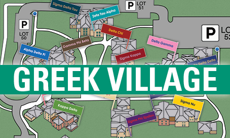 Greek Village Map