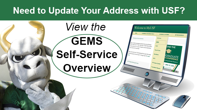 Update Address Gems Self Service