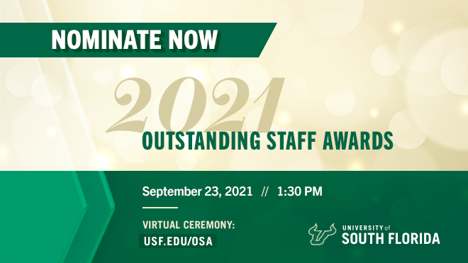 Outstanding Staff Awards - Nominate Now