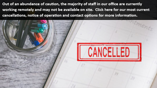 Office Cancellations