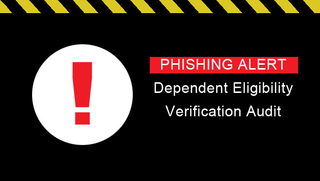 Phishing Alert Warning Sign