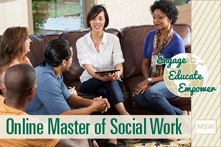 Master of Social Work - Start Summer 2017